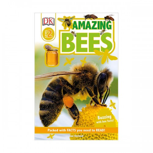 DK Readers Level 2 : Amazing Bees: Buzzing with Bee Facts! (Paperback)
