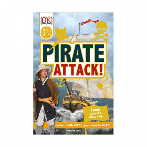 DK Readers Level 2 : Pirate Attack! (Paperback)