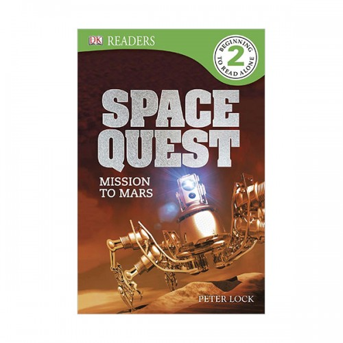 DK Readers Level 2 : Space Quest : Mission to Mars (Paperback)