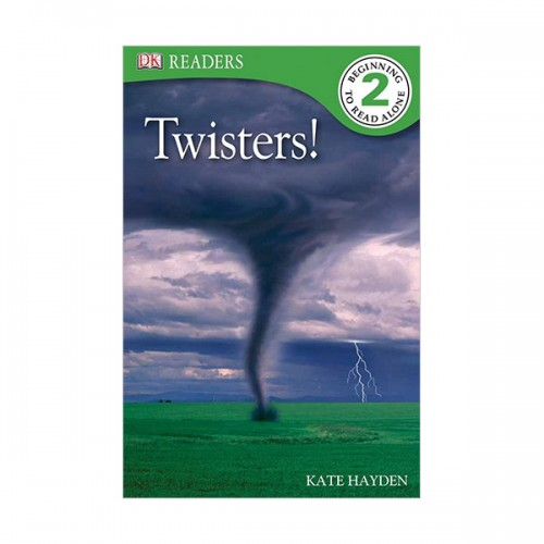 DK Readers Level 2 : Twisters! (Paperback)
