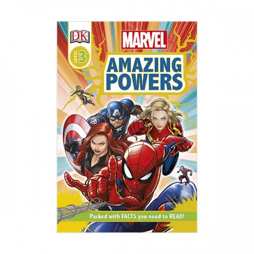DK Readers Level 3 : Marvel Amazing Powers (Paperback)