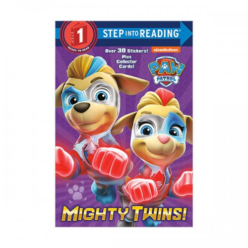 Step Into Reading 1 : PAW Patrol : Mighty Twins! (Paperback)