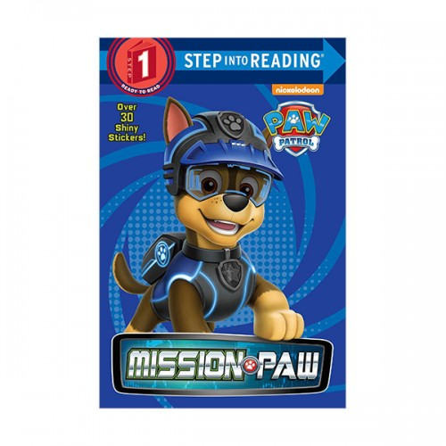 Step Into Reading 1 : PAW Patrol : Mission PAW (Paperback)