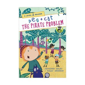 A Level 2 Reader : Peg + Cat : The Pirate Problem (Paperback)