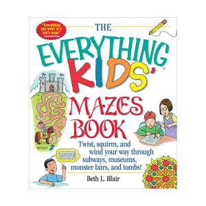 The Everything Kids' Mazes Book (Paperback)