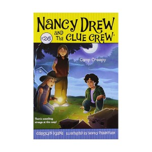 Nancy Drew and the Clue Crew #26 : Camp Creepy (Paperback)