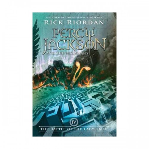 Percy Jackson and the Olympians #04: The Battle of the Labyrinth (Paperback)