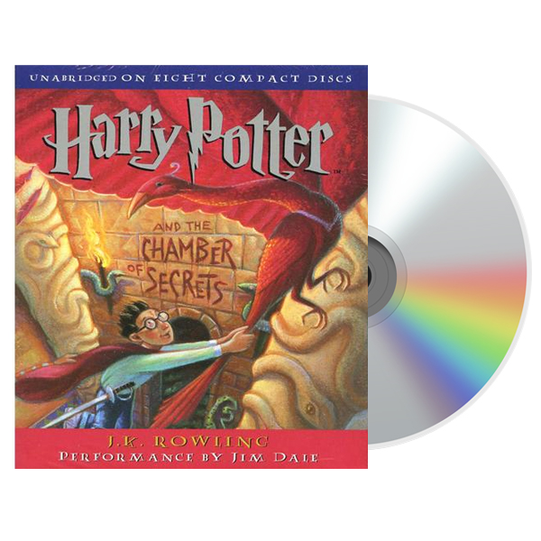 해리포터 #02 : Harry Potter and the Chamber of Secrets (Audio CD, 미국판)(도서미포함)