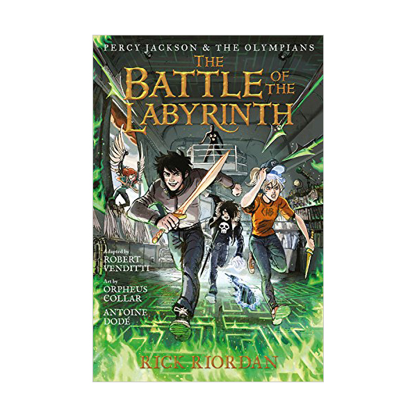 Percy Jackson and the Olympians Graphic Novel #04 : The Battle of the Labyrinth (Paperback)