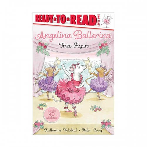 Ready to Read 1 : Angelina Ballerina Tries Again (Paperback)