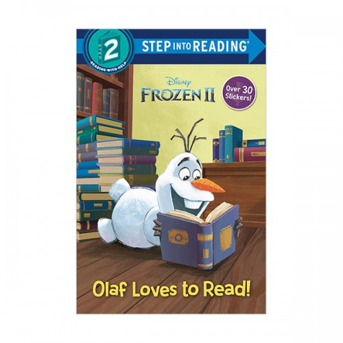 Step Into Reading 2 : Disney Frozen 2 : Olaf Loves to Read! (Paperback)