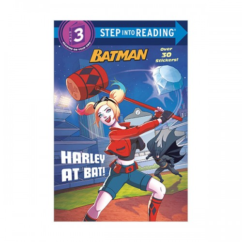 Step Into Reading 3 : DC Super Heroes : Batman : Harley at Bat! (Paperback)