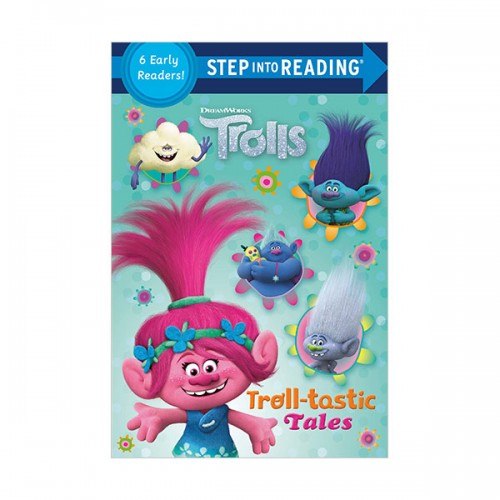 Step Into Reading 2 & 3 : DreamWorks Trolls : Troll-tastic Tales (Paperback)