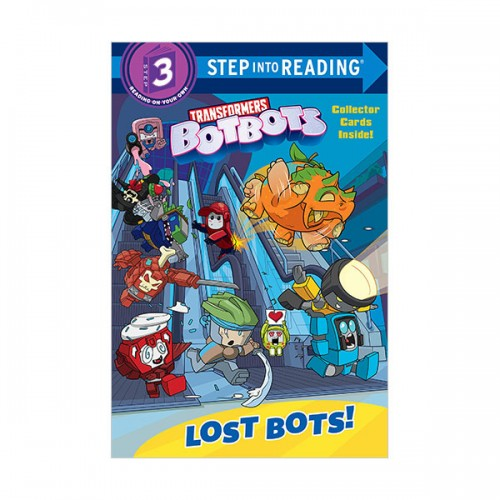 Step Into Reading 3 : Transformers BotBots : Lost Bots! (Paperback)