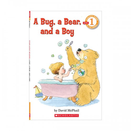Scholastic Reader Level 1 : A Bug, a Bear, and a Boy (Paperback)
