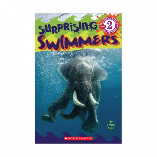 Scholastic Reader Level 2 : Surprising Swimmers (Paperback)