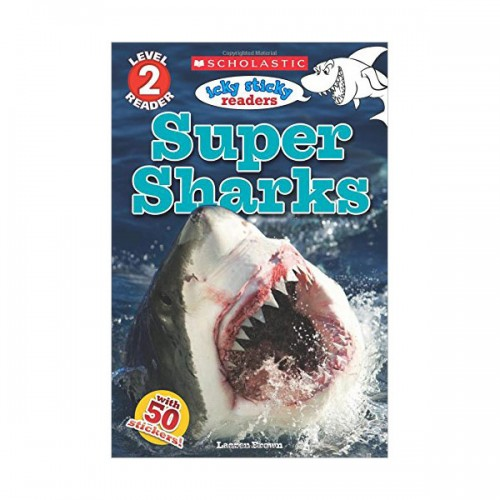 Scholastic Reader Level 2 : Icky Sticky : Super Sharks (Paperback)