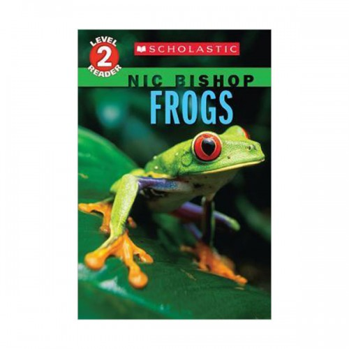 Scholastic Reader Level 2 : Pet Charms #04 : Frogs (Paperback)