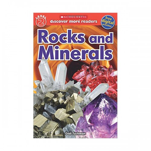 Scholastic Reader Level 2 : Rocks and Minerals(Paperback)