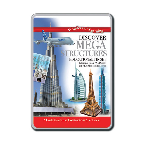 Wonders of Learning : Discover Mega Structures (Educational Tin Set, 영국판)