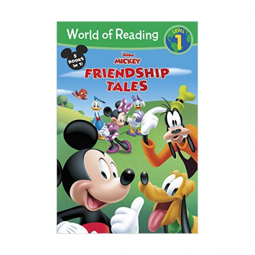 World of Reading Level 1 : Disney Junior Mickey : Friendship Tales (Paperback)