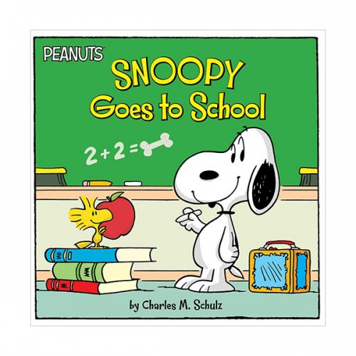 Peanuts : Snoopy Goes to School (Paperback)