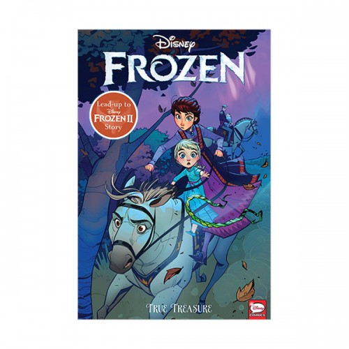Disney Frozen : True Treasure (Graphic Novel, Paperback)
