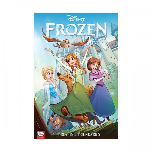 Disney Frozen : Breaking Boundaries (Graphic Novel, Paperback)