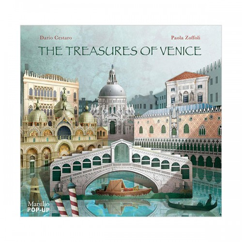 The Treasures of Venice Pop-Up (Hardcover)