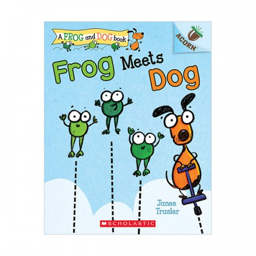 Frog and Dog #01 : Frog Meets Dog (Paperback)