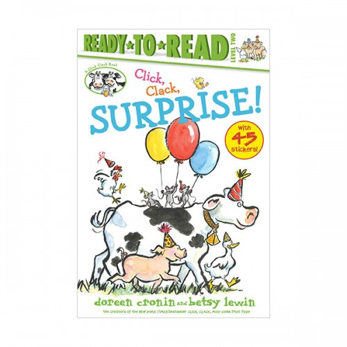 Ready to read 2 : Click, Clack, Surprise! (Paperback)