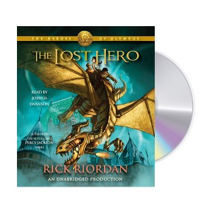 The Heroes of Olympus #01 : The Lost Hero (Audio CD, 도서별도구매)