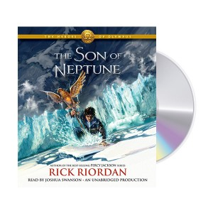 The Heroes of Olympus #02 : The Son of Neptune (Audio CD, 도서별도구매)
