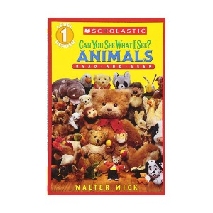 Scholastic Reader Level 1 : Can You See What I See? Animals : Read-and-Seek (Paperback)