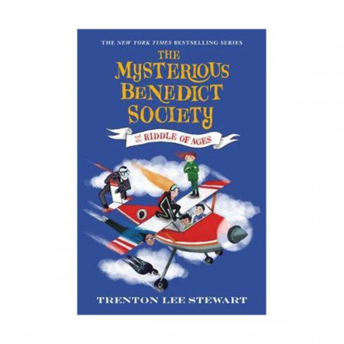 베네딕트 비밀클럽 #04 : The Mysterious Benedict Society and the Riddle of Ages (Paperback)