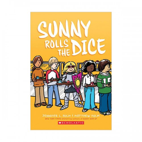 [스콜라스틱] Sunny  #03 : Sunny Rolls the Dice (Graphic Novel, Paperback)
