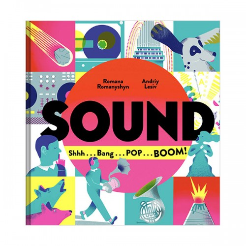 Sound : Shhh . . . Bang . . . POP . . . BOOM! (Hardcover)