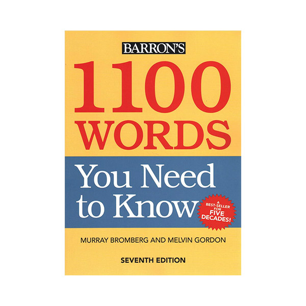 [7th Edition] Barron's 1100 Words You Need To Know (Paperback)