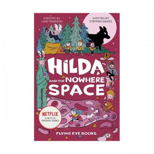 [넷플릭스] Netflix Original Series #03 : Hilda and the Nowhere Space (Hardcover, 영국판)