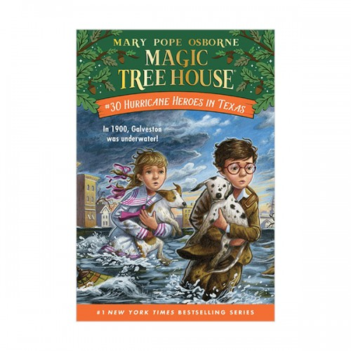Magic Tree House # 30 : Hurricane Heroes in Texas (Paperback)