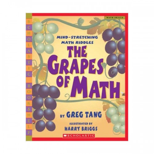 [스콜라스틱] The Grapes Of Math (Paperback)