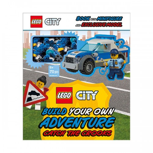 LEGO City Build Your Own Adventure Catch the Crooks (Paperback)