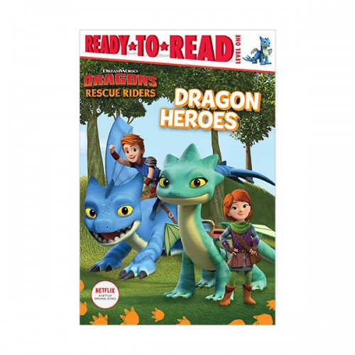 Ready to read 1 : DreamWorks Dragons: Rescue Riders :Dragon Heroes (Paperback)