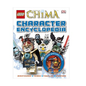LEGO Legend of Chima Character Encyclopedia (Hardcover, Figure)