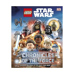 LEGO Star Wars Chronicles of the Force (Hardcover, Figure)(영국판)