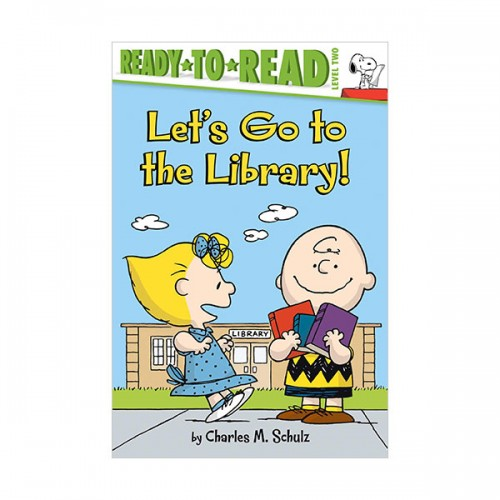 Ready to Read 2 : Peanuts : Let's Go to the Library! (Paperback)