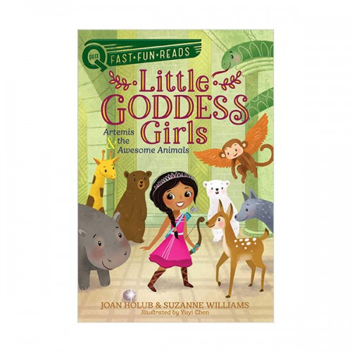 Little Goddess Girls #04 : Artemis & the Awesome Animals (Paperback)