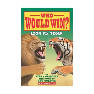 Who Would Win? #02 : Lion vs. Tiger (Paperback)