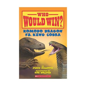 Who Would Win? #06 : Komodo Dragon vs. King Cobra (Paperback)
