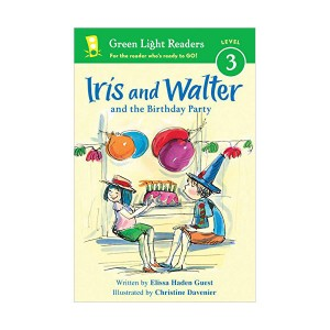 Green Light Readers Level 3 : Iris and Walter and the Birthday Party (Paperback)